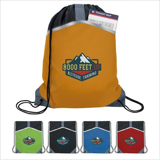 Atchison® Safety Drawstring Backpack