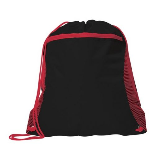 Duo Color Mesh Pocket Sport Pack Backpack