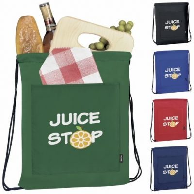 Koozie® Drawstring Backpack Kooler