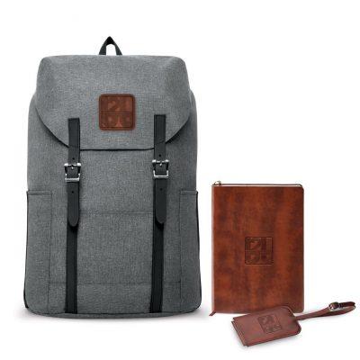 Nomad Must Haves Flip-Top Backpack Fabrizio Bundle