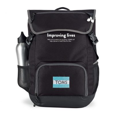 Ollie Computer Backpack - Black