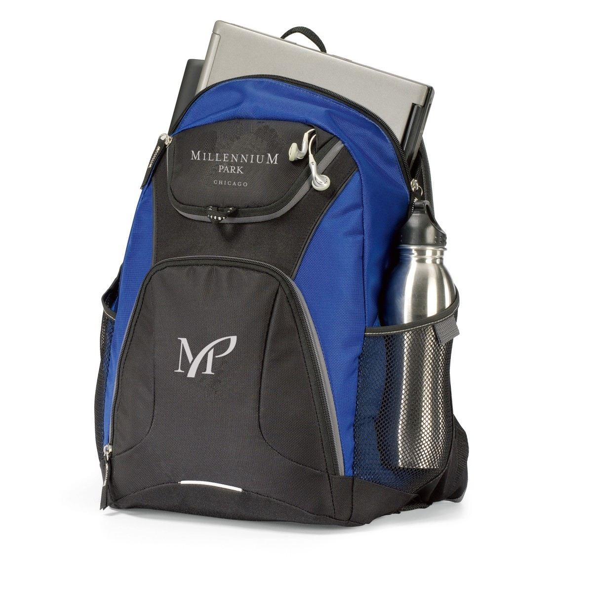 Quest Computer Backpack Blue