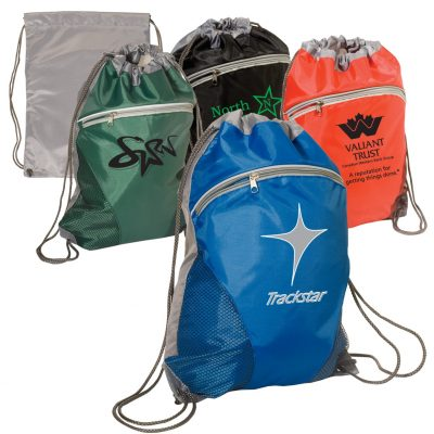 Zip Pouch String-A-Sling Backpack