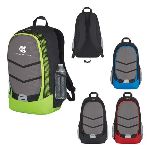 Diamond Lattice Accent Backpack