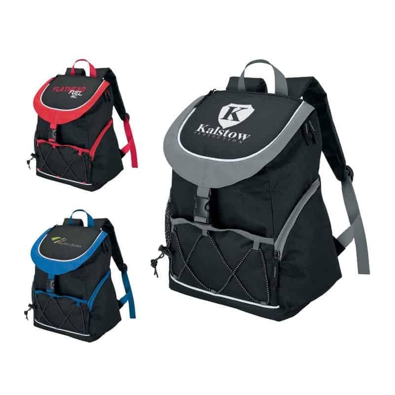 Adelene PEVA Lined Backpack Cooler