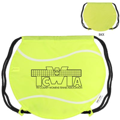 GameTime!® Tennis Ball Drawstring Backpack