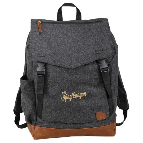 """Field & Co. Campster Wool 15"""" Rucksack Backpack"""