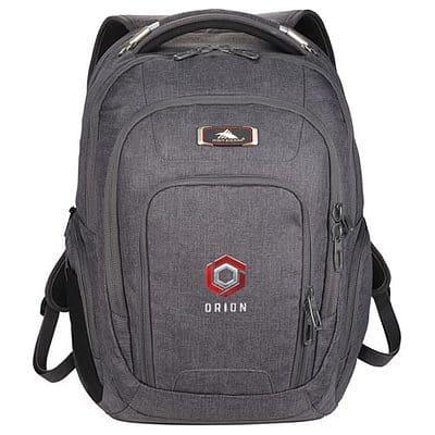"High Sierra 17"" Computer UBT Deluxe Backpack"