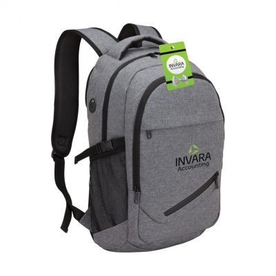 Pro-Tech Laptop Backpack & Hangtag