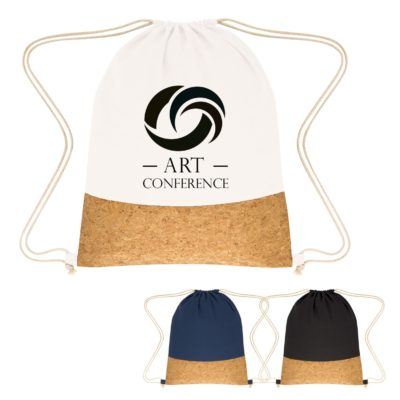 Somerset Cork Drawstring Backpack