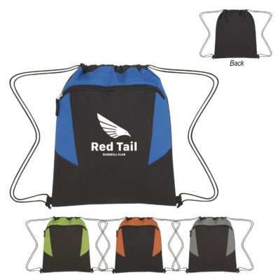 Tahoe Heathered Drawstring Backpack