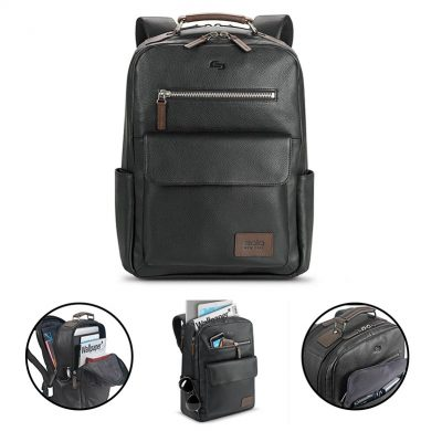 Solo Kilbourn Leather Backpack