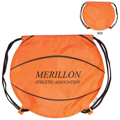 GameTime!® Basketball Drawstring Backpack