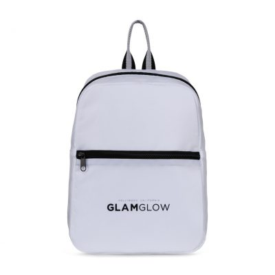 Moto Mini Backpack White