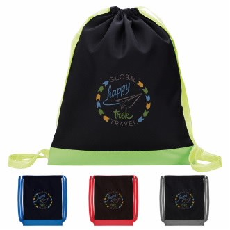 Good Value® Color Flip Drawstring Backpack
