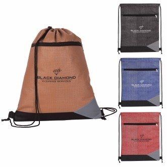 Good Value® Non-Woven Tread Drawstring Backpack