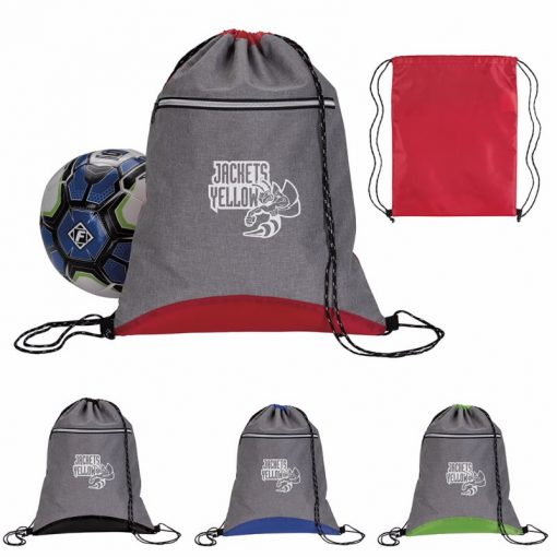 Good Value® Two Tone Sport Drawstring Backpack