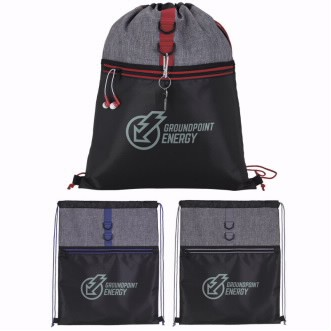 BIC Graphic® Stand Alone Drawstring Backpack