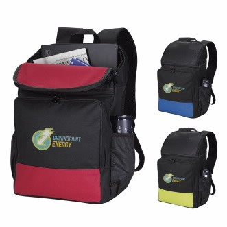 Good Value® Color Splash Computer Backpack