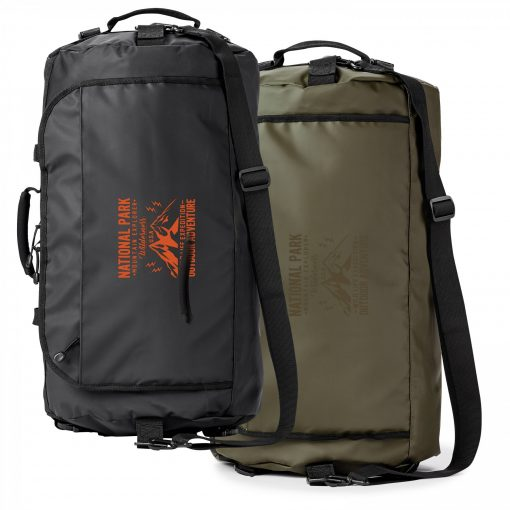 Call Of The Wild Water Resistant 45l Duffle Backpack