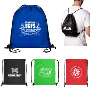 """Economy"" Drawstring Cinch Pack Backpack (Overseas)"