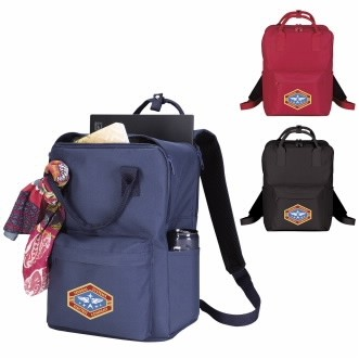 Good Value® Preppy Computer Tote Backpack