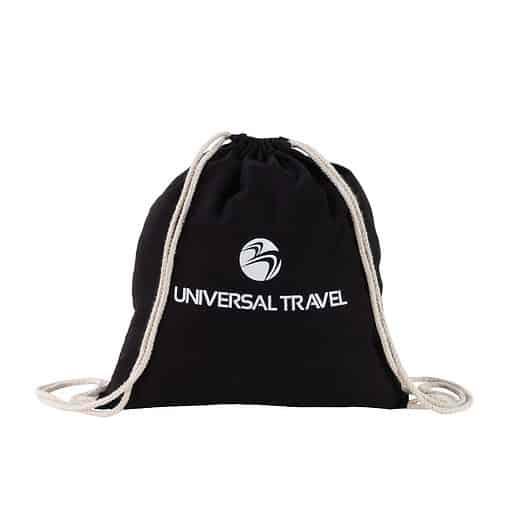 Natural Drawstring Backpack