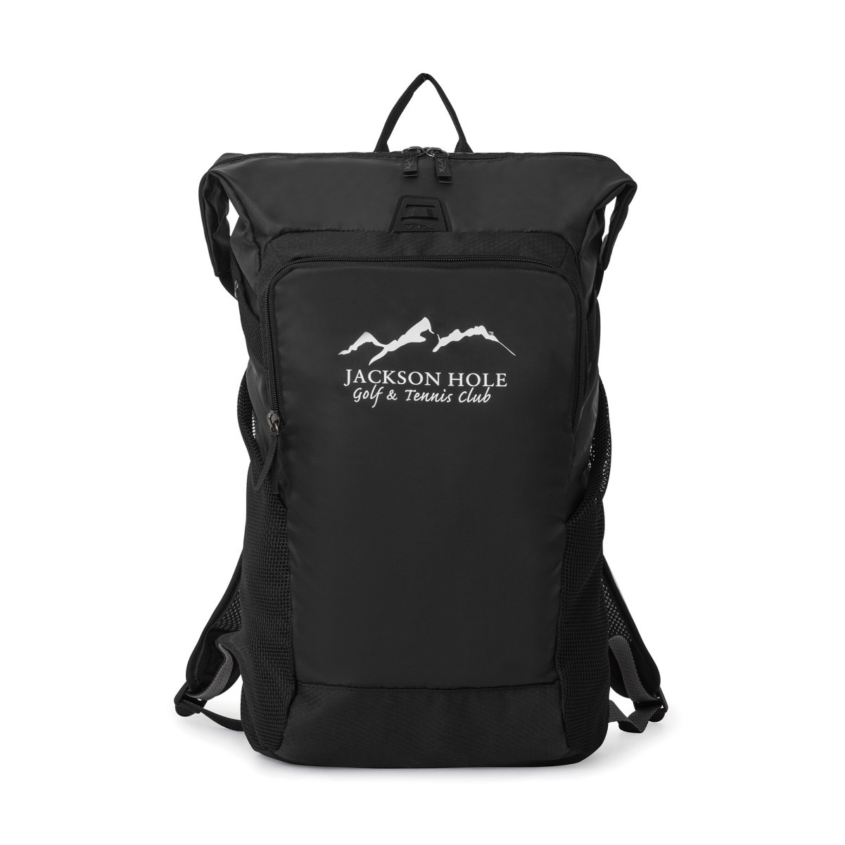 d6d96dc4e Vertex® Fusion Packable Backpack Black | Backpack With Logo