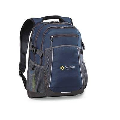 Pioneer Computer Backpack Blue-Navy