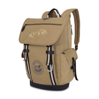 Heritage Supply Ridge Cotton Computer Backpack Natural