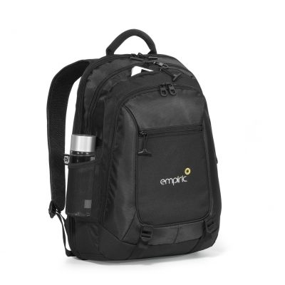 Life in Motion® Alloy Computer Backpack - Black