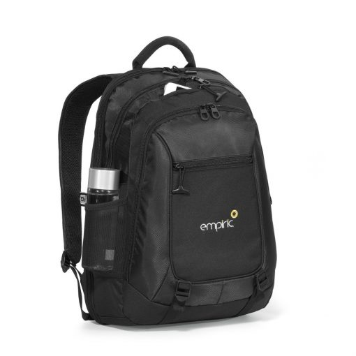 Life in Motion® Alloy Computer Backpack Black