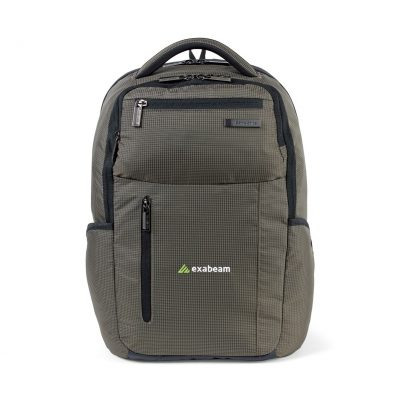 Samsonite Tectonic Cross Fire Computer Backpack Brown-Green