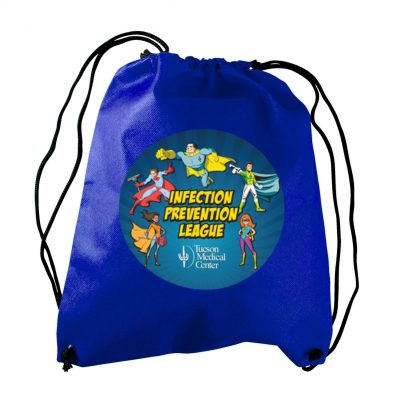 The Recruit - Non-woven Drawstring Backpack- digital imprint