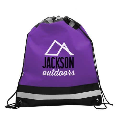 The Reflector - Drawstring Backpack