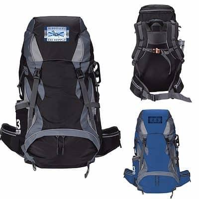 Koozie® Adventure 43L Hiking Backpack