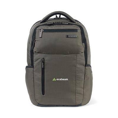 Green/Black Samsonite Tectonic Cross Fire Computer Backpack