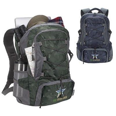 Koozie® Wanderer Camo 25L Daypack Backpack