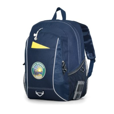 Atlas Computer Backpack - Navy Blue