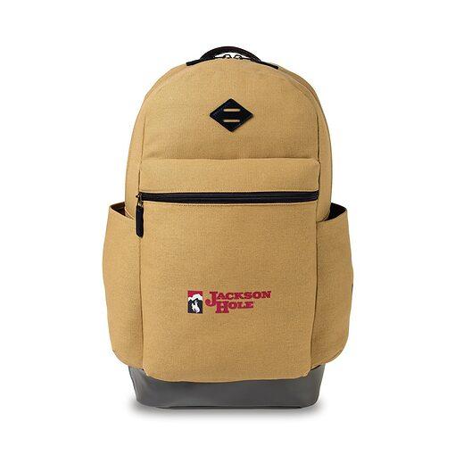 Heritage Supply Ridge Cotton Classic Computer Backpack - Dune