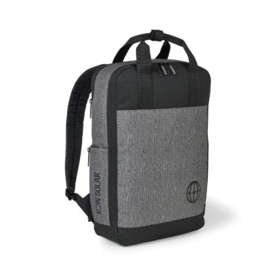 Logan Computer Backpack - Granite Heather Grey
