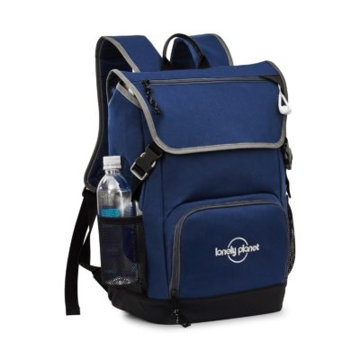 Ollie Computer Backpack - Navy Blue