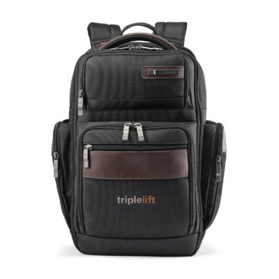 Samsonite Kombi 4 Square Backpack - Black-Brown