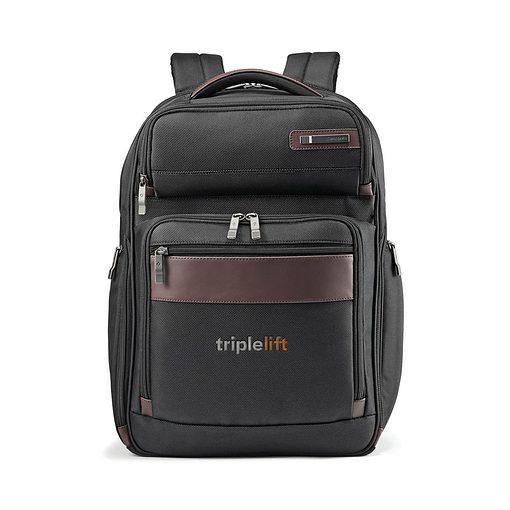 Samsonite Kombi Large Backpack - Black-Brown