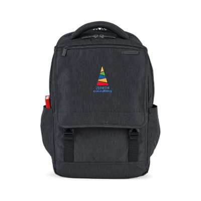 Samsonite Modern Utility Paracycle Computer Backpack - Charcoal Heather-Charcoal