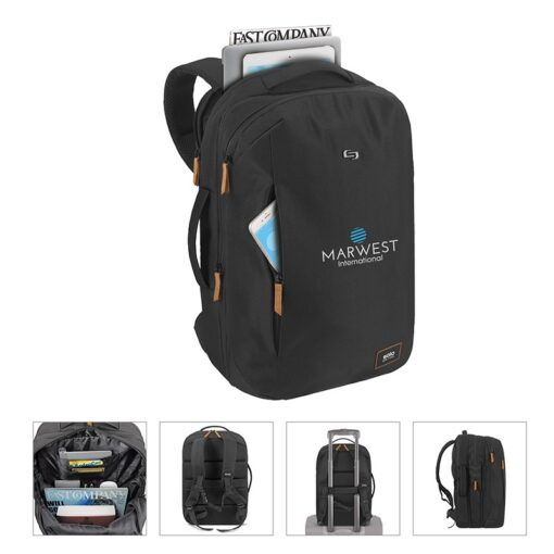 Solo Crosstown Expandable Backpack