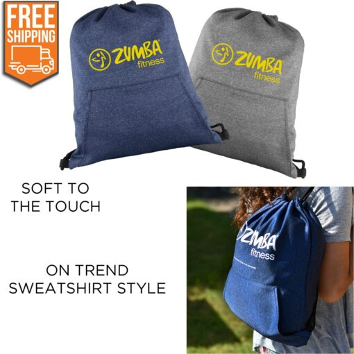 Hype Drawstring Backpack - Free FedEx Ground Shipping