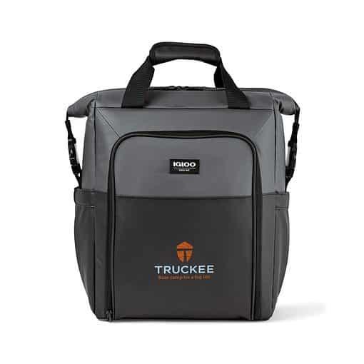 Igloo® Seadrift™Switch Backpack Cooler - Black-Grey