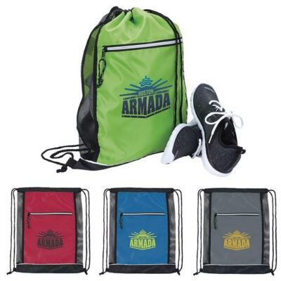 GoodValue® Big Vented Drawstring Backpack