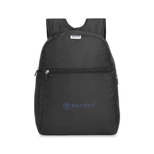 RuMe® Recycled Backpack - Black